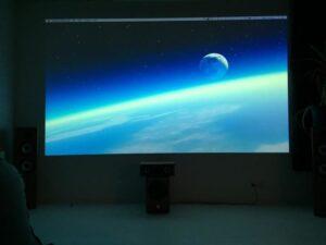 Slika barve za steno projektor partnerja v Avstraliji.