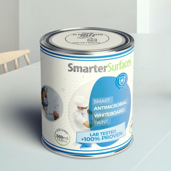 Slika pločevinke Smart protimikrobne piši briši barve.