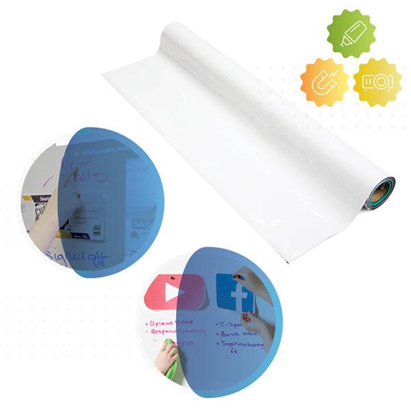 Smart magnetna piši briši in projekcijska tapeta.
