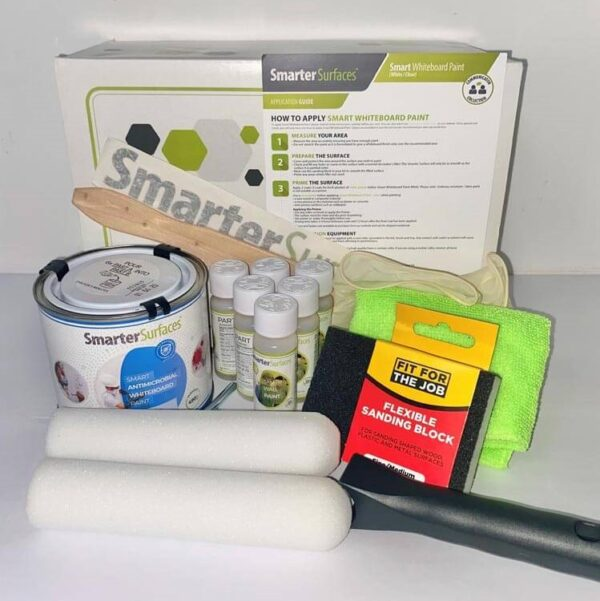 Smart protimikrobna piši briši barva pol komplet s škatlo.