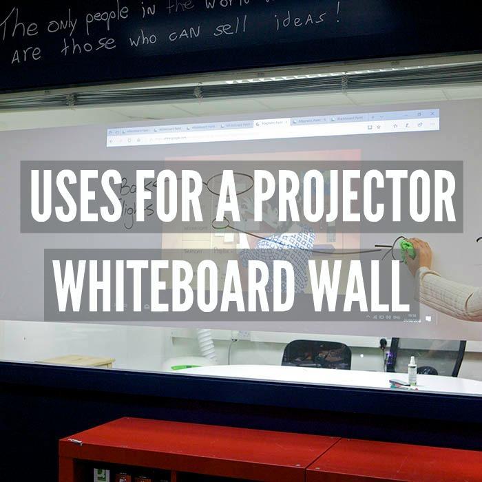 Projekcijska stena piši briši stena dvojna funkcionalnost