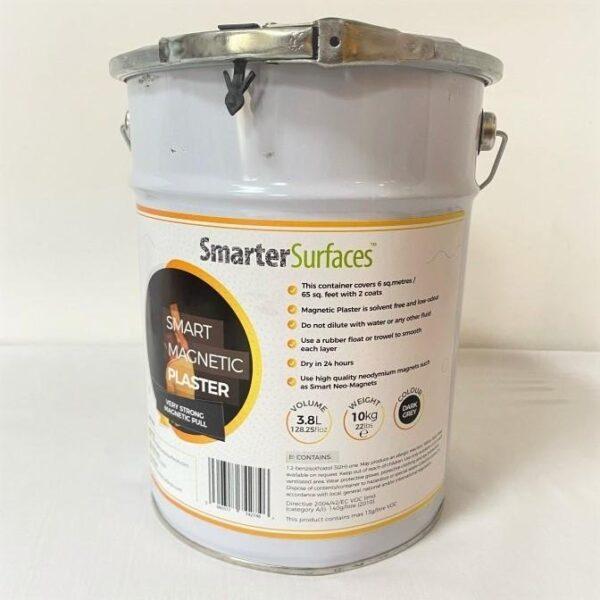 Smart magnetni premaz slika pločevinke pakiranja od spredaj.