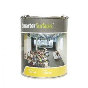 smarter surfaces pločevinka Smart barva za steno projektor