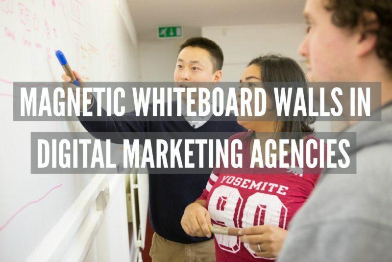 Magnetne piši briši stene in digitalne marketinške agencije