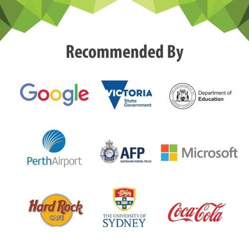 Smarter Surfaces AU uporabniki in poslovni partnerji.