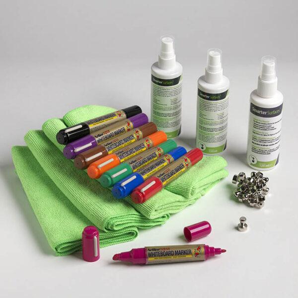 Uporabniški komplet magnetne piši briši barve